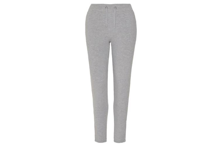 AWDis Just Cool Womens/Ladies Girlie Tapered Jogging Trousers (Sports Grey) (L)