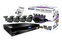 KGUARD Easy Link 4-Channel Home Security Kit with 500GB Hard Drive (EL421-4C500G)
