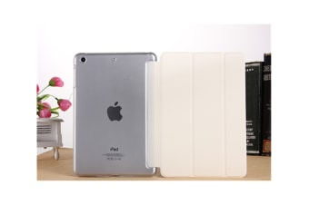 Premium Leather Business Slim Folding Stand Folio Cover For Ipad White 2017/2018 Ipad 9.7