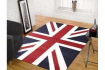 Funky Union Jack Rug Blue Red White