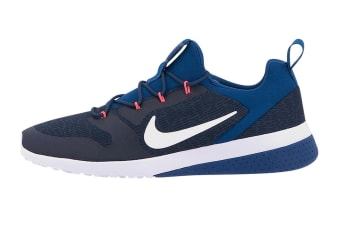 Nike Men's CK Racer Shoes (Obsidian/White Gym/Thunder Blue, Size 9.5 US)