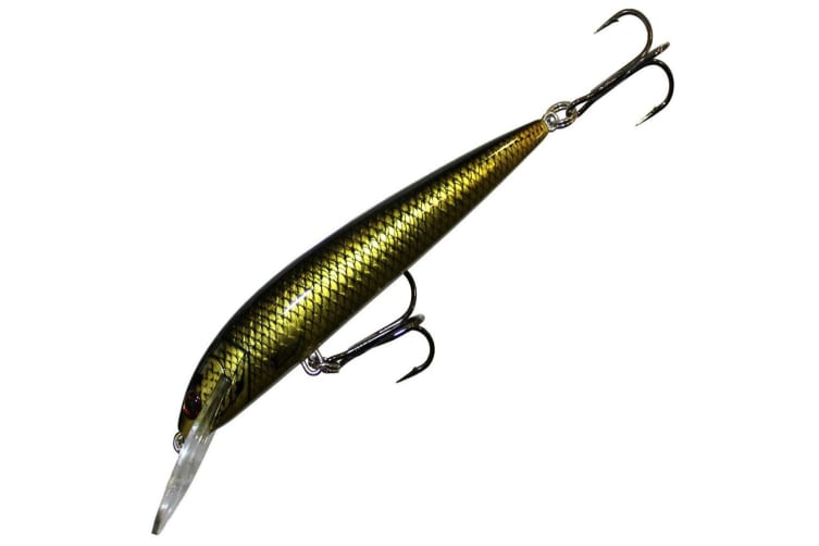 Bagley Rumble B 09 Fishing Lure - Aussie Gold