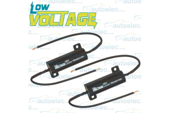 LOW VOLTAGE LED LOAD RESISTOR 4 TRAILER TAIL STOP LIGHT PAIR IND LAMP LVO490