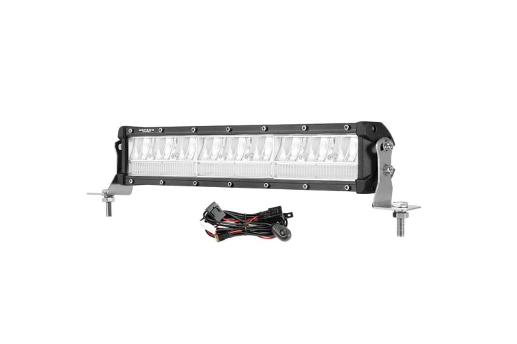 """DEFEND DEFEND 12inch LED Light Bar Dual Row Spot Flood Combo Driving OffRoad Truck 13"""""""