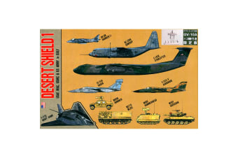 Pit-Road - 1/700 - Desert Shield 1 Special with Metal OV-10A Bronco 3pcs