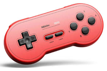 8Bitdo SN30 Wireless Bluetooth Gamepad - GP Red Edition