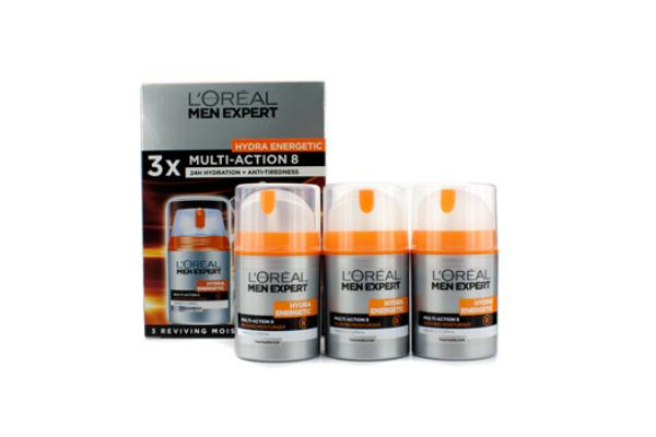 L'Oreal Men Expert Hydra Energetic Multi-Action 8 Z0028240 (3pcs)