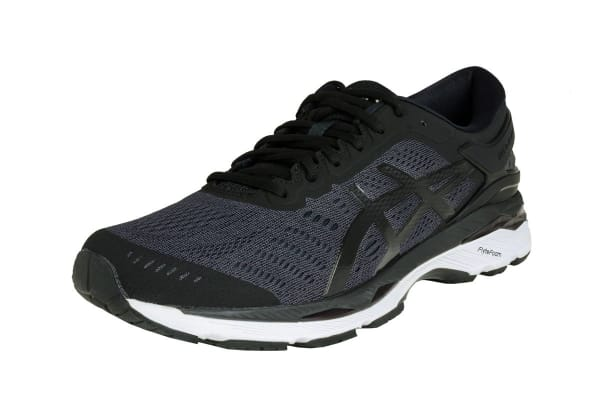 ASICS Men's Gel-Kayano 24 Running Shoe (Black/Phantom/White, Size 8)