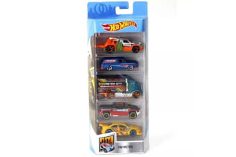 Hot Wheels 5-pack Metro