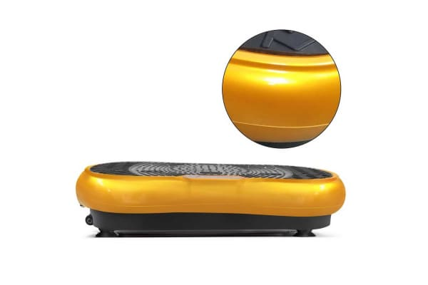 1000W Vibrating Plate with Roller Wheels (Gold)