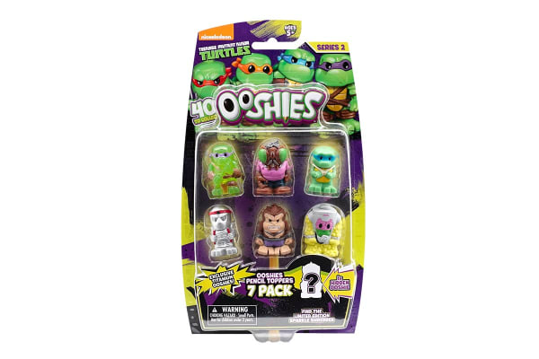 Ooshies TMNT Assorted 7 Pack S2
