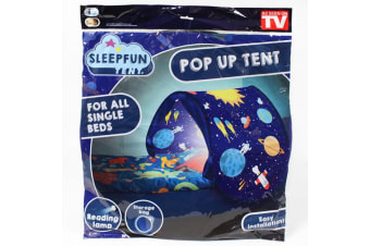 Sleep Fun Tent Planet Party