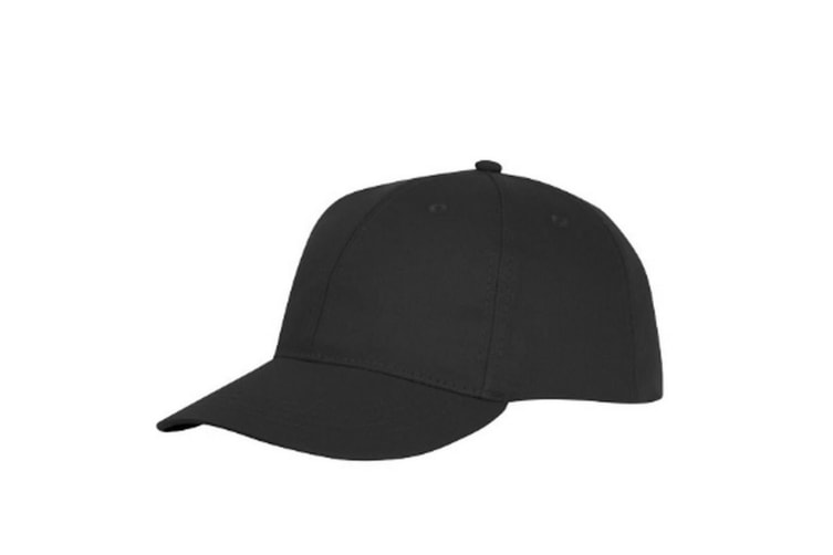 Bullet Ares 6 Panel Cap (Solid Black) (One Size)