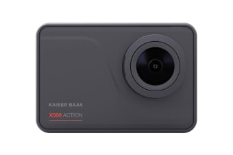Kaiser Baas X500 4K 60 FPS Action Cam