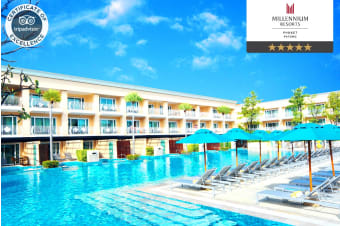 PHUKET: 7 or 10 Nights at the Millennium Resort Patong, Phuket for Two