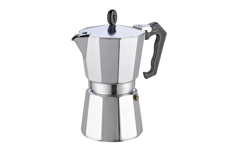 GAT Ladyoro 3 Cup Stove Top Aluminium Espresso Maker MADE IN ITALY