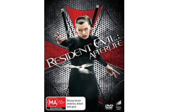 Resident Evil Afterlife DVD Region 4