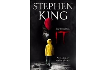 It - The classic book from Stephen King with a new film tie-in cover to IT: CHAPTER 2, due for release September 2019