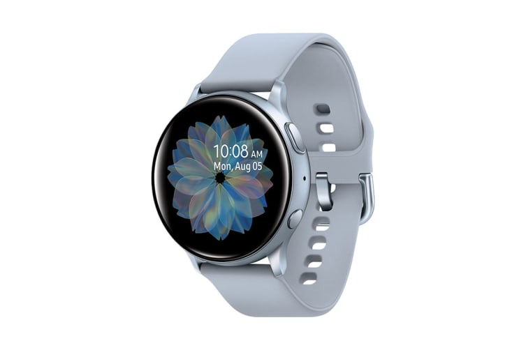 Samsung Galaxy Watch Active 2 SM-R820 (44mm, Bluetooth, Cloud Silver)
