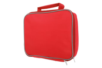 Mucky Fingers Kids Insulated School Lunch Bag (Red)