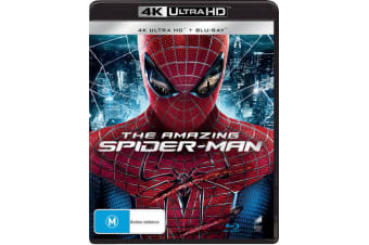 The Amazing Spider Man 4K Ultra HD Blu-ray Digital Download UHD Region B