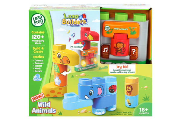 LeapFrog LeapBuilder Wild Animals