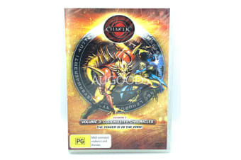 Chaotic Volume 3 Codemaster Chronicles -Animated Series DVD NEW