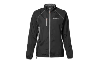 ID Womens/Ladies Geyser Active Regular Fitting Windproof Running Jacket (Black) (XS)