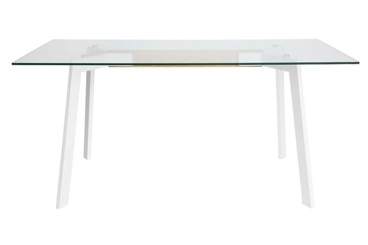 Vox Collection | Dining Table | White & Natural | 160cm