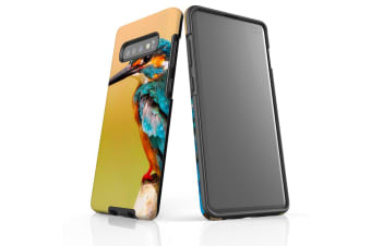 For Samsung Galaxy S10+ Plus Case  Armour Tough Cover  Kingfisher