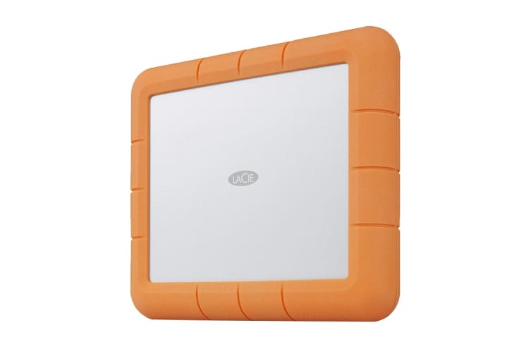 LaCie 8TB Rugged RAID Shuttle USB 3.1 Gen 2 External Hard Drive (STHT8000800)