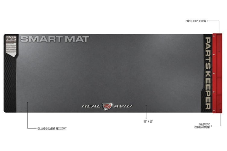 Real Avid 43''x16'' Universal Smart Mat With Bult In Parts Keeper