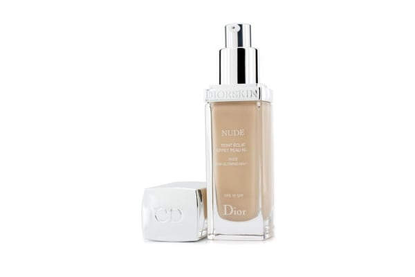 Christian Dior Diorskin Nude Skin Glowing Makeup SPF 15 - # 010 Ivory (30ml/1oz)