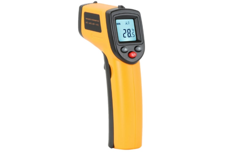 Select Mall Infrared Thermometer Non-Contact Digital Temperature Gun Instant-Read -58°F to 716°F for Kitchen Cooking BBQ Automotive and Industrial