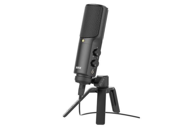 RODE NT-USB USB Condenser Microphone Includes Tripod stand