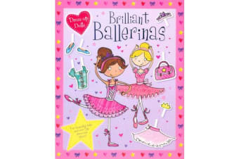 Press Out Dolls - Ballerinas