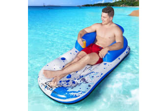 Bestway Pool Lounge Chair Inflatable Swimming Comfy Cool Floating