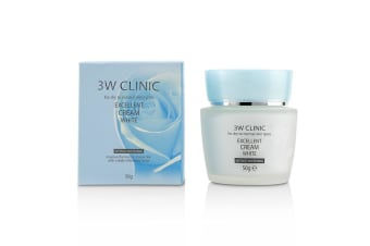 3W Clinic Excellent White Cream (Intensive Whitening) - For Dry to Normal Skin Types 50g
