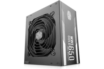 Cooler Master MWE Gold 650W 80Plus Gold Full Modular Power Supply 5 Years warranty