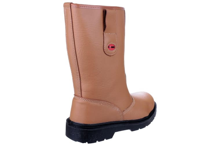 Centek FS334 Safety Rigger Boot / Mens Boots (Tan) (9 UK)