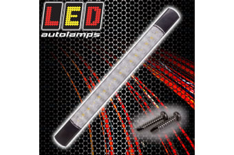 LED AUTOLAMPS REVERSE STRIP LAMP LIGHT SURFACE MOUNT WHITE WATERPROOF 285BW12