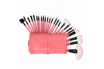 Makeup Brushes - Pink