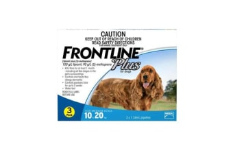 Frontline Plus Dog Medium Blue - 3p