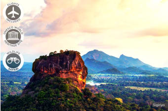SRI LANKA: 16 Day Amazing Sri Lanka Tour Including Flights for Two