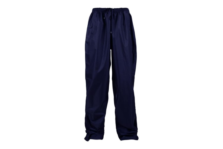 Kam Jeanswear Mens Waterproof Over Trousers (Navy) (4XL)