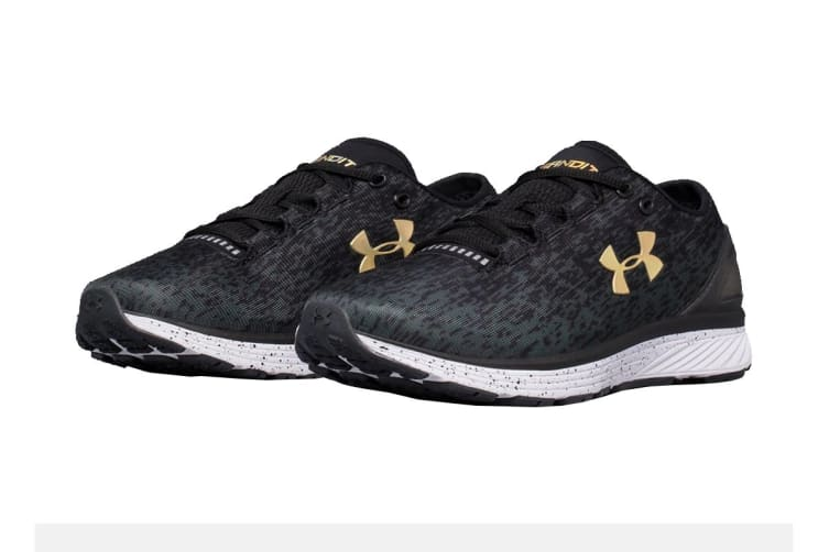 Under Armour Men's Charged Bandit 3 Ombre Shoe (Black/Anthracite, Size 10)