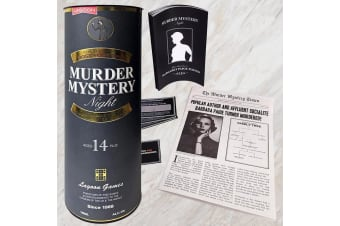 DIY Host a Murder Mystery Night Game | Ages 14+ | Lagoon Games