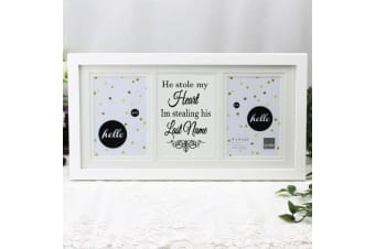 Engagement White Gallery Frame