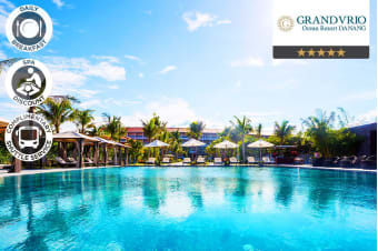VIETNAM: 5 Nights at Grandvrio Ocean Resort Danang for Two