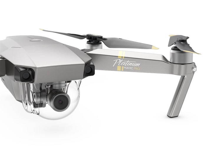 DJI Mavic Pro Platinum Drone - Official DJI Refurbished